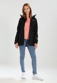 The North Face - WOMENS HIKESTELLER JACKET - Hardshell jacket - black - 1
