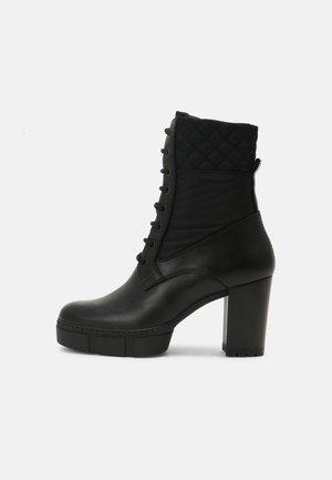 KUDU - Platform ankle boots - black