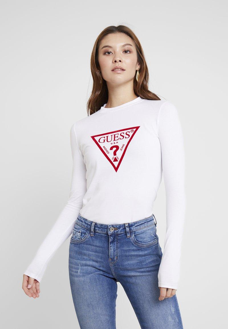 Guess - KUMIKO - Long sleeved top - true white