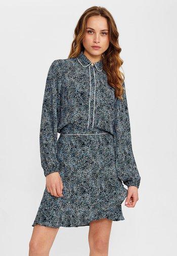 NUCLARKE SKIRT - A-line skirt - dark sapphire