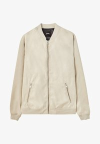 PULL&BEAR - Giubbotto Bomber - light brown - 5