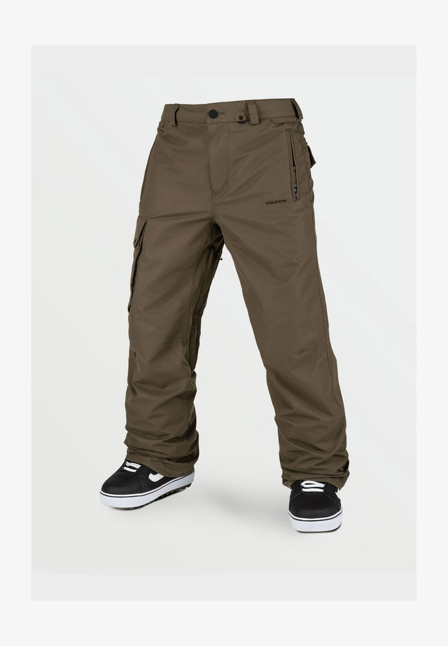 HUNTER PANT - Pantalon de ski - dark_teak