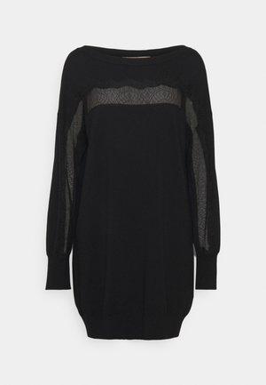 ABITO - Gebreide jurk - nero