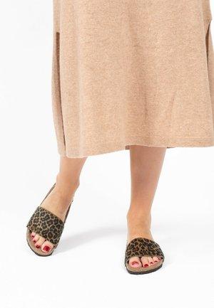 MAFALDA - Slippers - leopard print