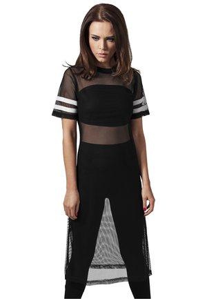 Print T-shirt - black/white