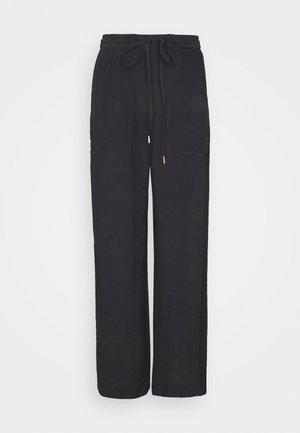 LINEAR - Pantaloni - black
