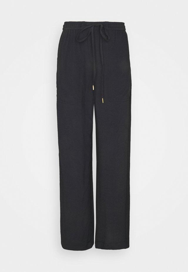 LINEAR - Trousers - black