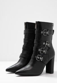 Liu Jo Jeans - SHANA - Bottines à talons hauts - black - 4