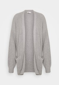 Hollister Co. - LONG LENGTH SHAKER - Cardigan - light grey - 0