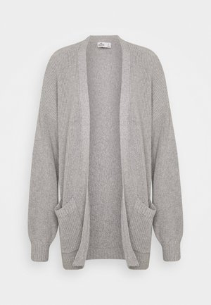 LONG LENGTH SHAKER - Cardigan - light grey