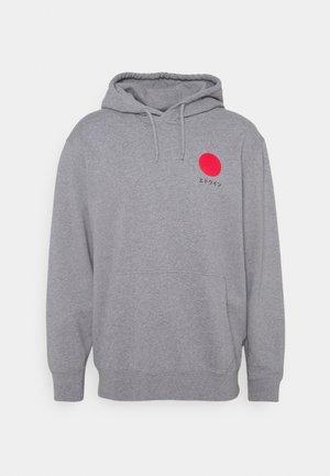 JAPANESE SUN HOODIE UNISEX - Collegepaita - mottled grey