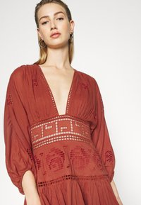 Free People - TEA TIME MINI - Day dress - rust worthy - 3