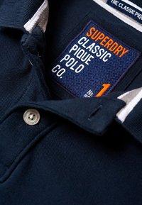 Superdry - MIT KURZEN ÄRMELN - Polo shirt - dark navy blue - 4