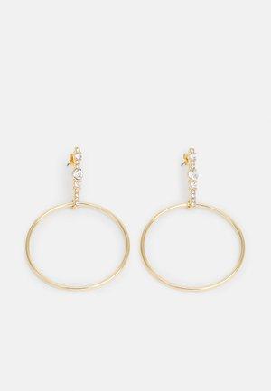PCPANIKA EARRINGS - Earrings - gold-coloured
