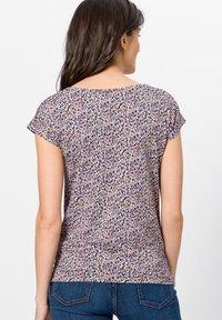 zero - Print T-shirt - magenta rouge - 2