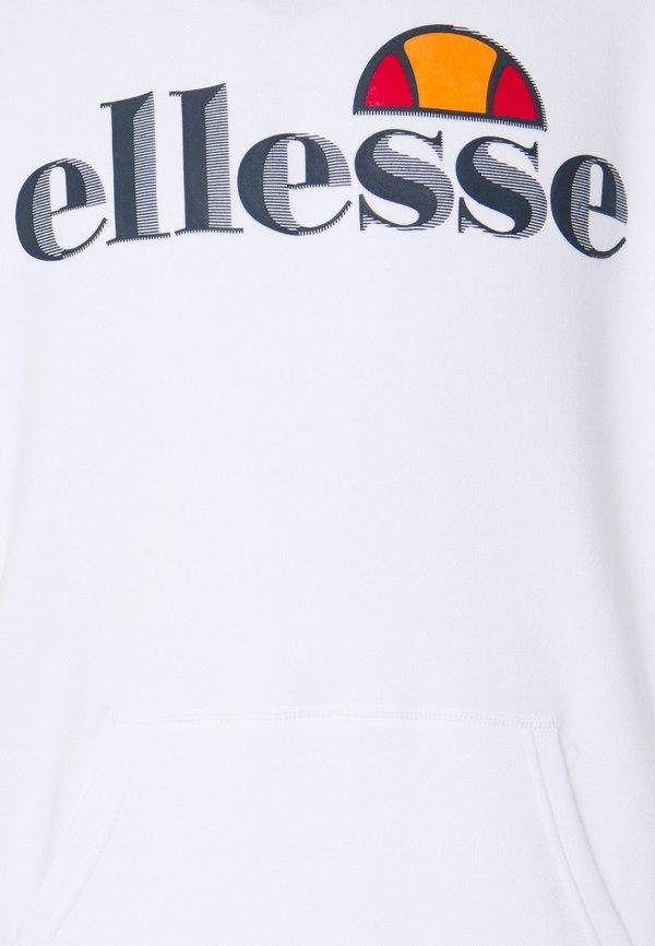 Ellesse MONALETO - Bluza z kapturem - white/biały Odzież Męska YTYX