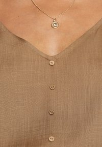 ONLY - ONLASTRID SINGLET - Top - beige - 4