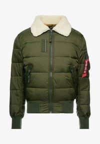 Alpha Industries - INJECTOR III PUFFER - Light jacket - dark green - 3