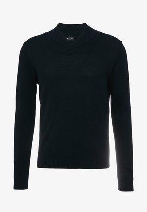 INGE - Stickad tröja - dark blue