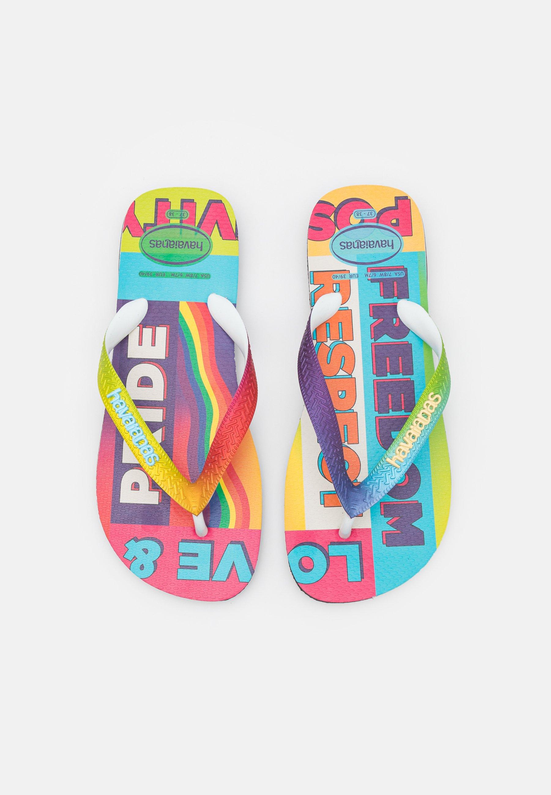 Women TOP PRIDE RAINBOW UNISEX - T-bar sandals