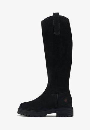 LINDA  - Platform boots - schwarz