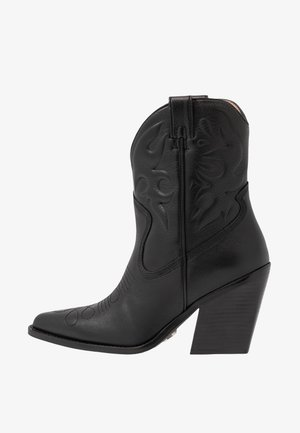 NEW KOLE - Cowboy/biker ankle boot - black