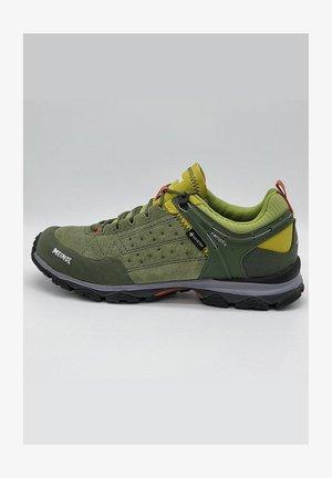 Casual lace-ups - grün/gelb