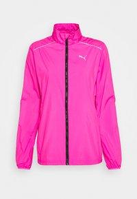 Puma - IGNITE WIND JACKET - Běžecká bunda - luminous pink - 4
