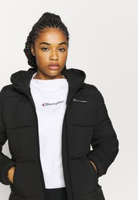 Champion - HOODED JACKET LEGACY - Treningsjakke - black - 3