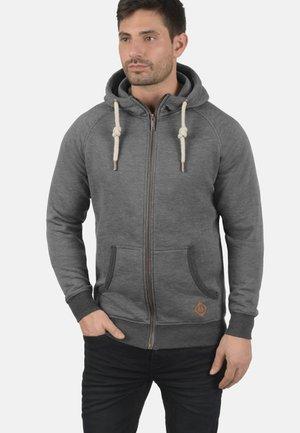 VITU - Zip-up sweatshirt - grey melange