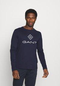 GANT - LOCK UP - Long sleeved top - evening blue - 0