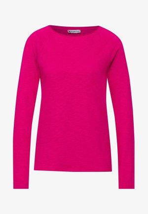 LÄSSIGEM LOOK - Long sleeved top - pink