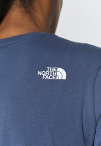 The North Face - SIMPLE DOME TEE - T-shirt basic - vintage indigo - 4