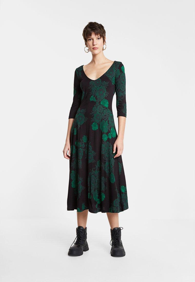 Desigual - VEST YESS - Jumper dress - green