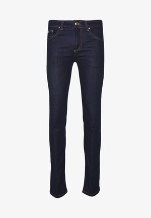 LONDON WASHED BACK LOGO - Jeansy Skinny Fit - dark denim