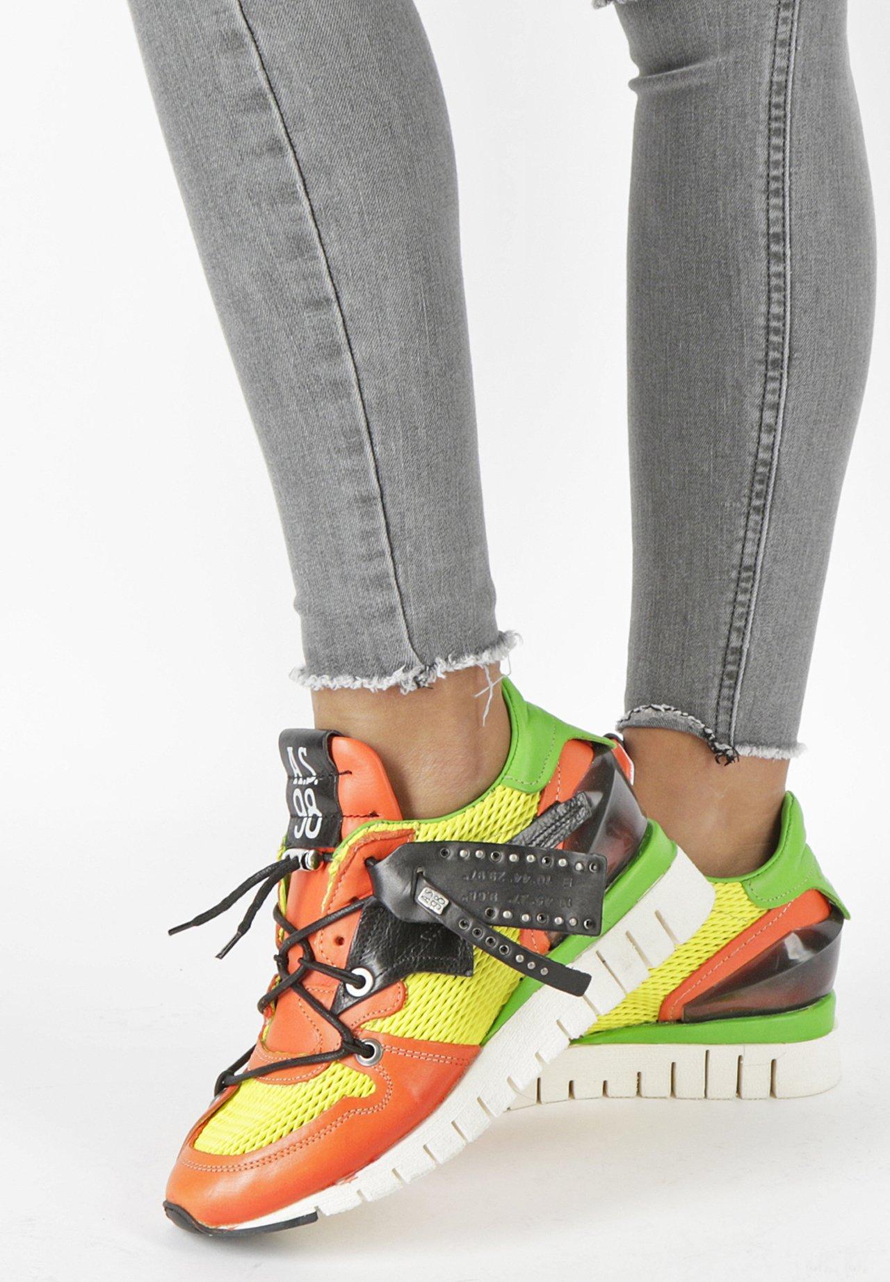 Gutes Angebot A.S.98 Sneaker low - orange/green | Damenbekleidung 2020