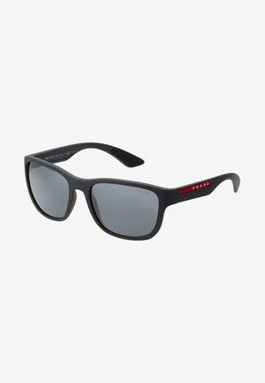 Okulary przeciwsłoneczne - matte black/grey mirror black
