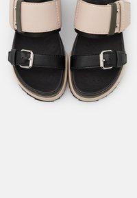 MAX&Co. - HARBOUR - Platform sandals - beige - 6