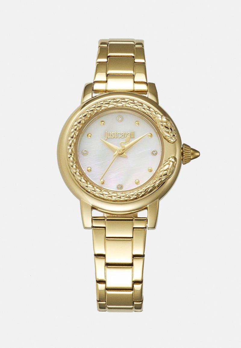 Just Cavalli - SNAKE WATCH - Watch - gold-coloured