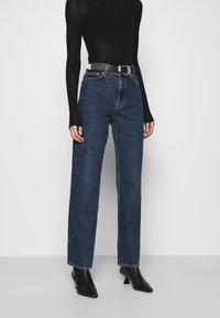 ARKET - Straight leg jeans - blue dark - 0