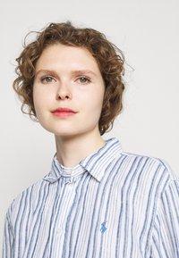 Polo Ralph Lauren - STRIPE - Button-down blouse - white/astor blue - 3