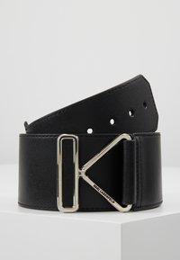 KARL LAGERFELD - KARL TRIANGLE BELT - Waist belt - black - 0
