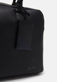 Calvin Klein - LAPTOP BAG UNISEX - Briefcase - black - 4