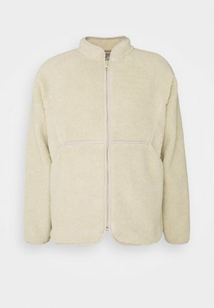 PUZZLE ZIP - Fleece jacket - natural