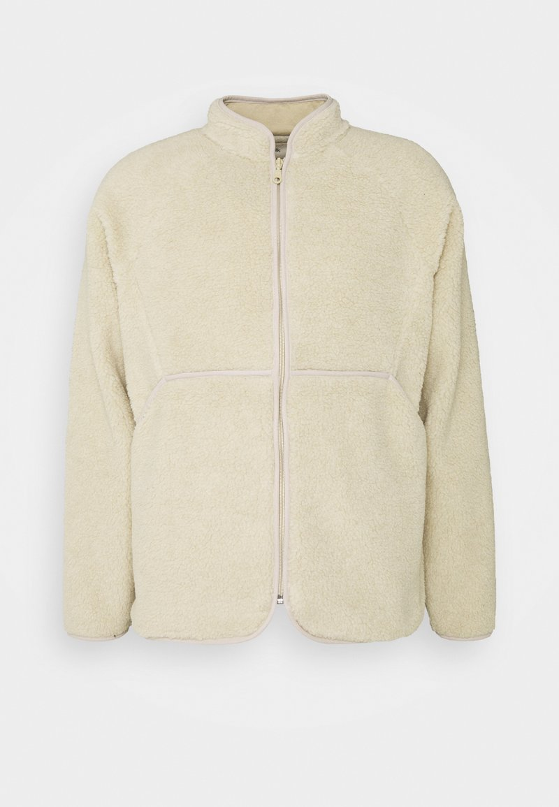 Folk - PUZZLE ZIP - Fleece jacket - natural