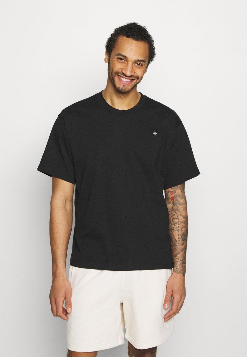 adidas Originals - PREMIUM TEE UNISEX - T-shirt basique - black