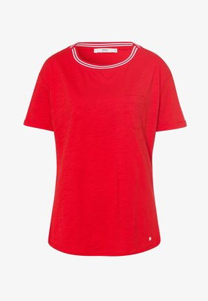 STYLE CAMILLE - Basic T-shirt - red