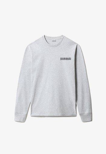 S-LATEMAR LS - Long sleeved top - light grey melange