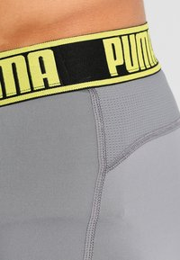 Puma - ACITVE BOXER 2 PACK - Panties - grey/yellow - 4