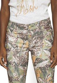 Mos Mosh - VICTORIA MAYA PANT - Trousers - oil green - 4